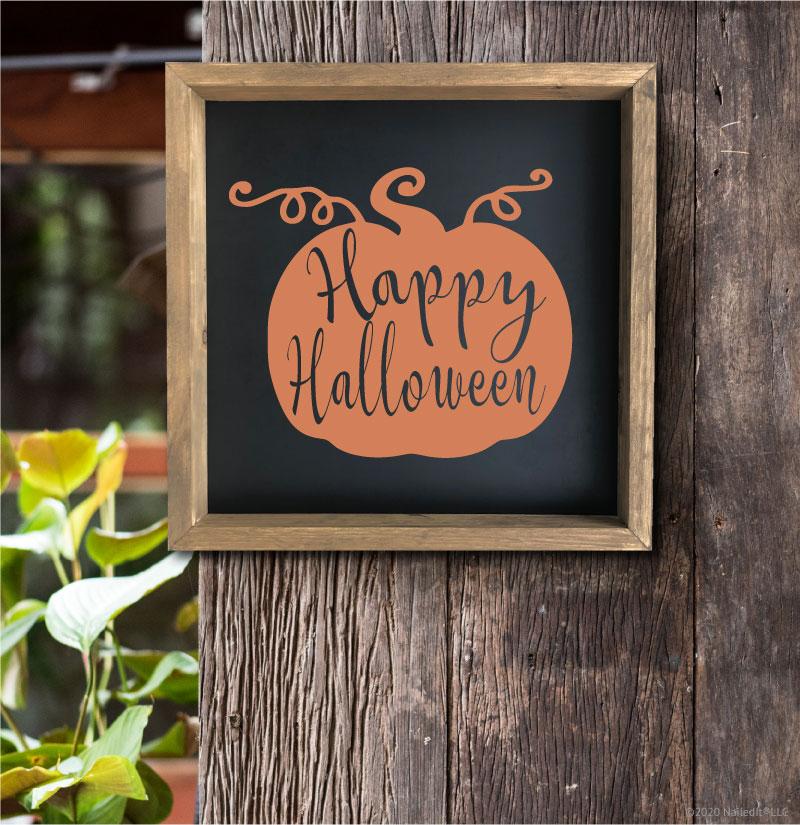 4015 Happy Halloween Pumpkin