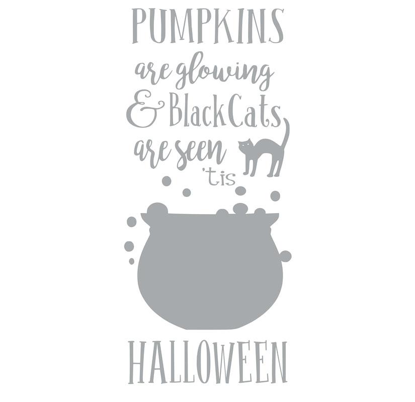 4017 Halloween Countdown Chalkboard