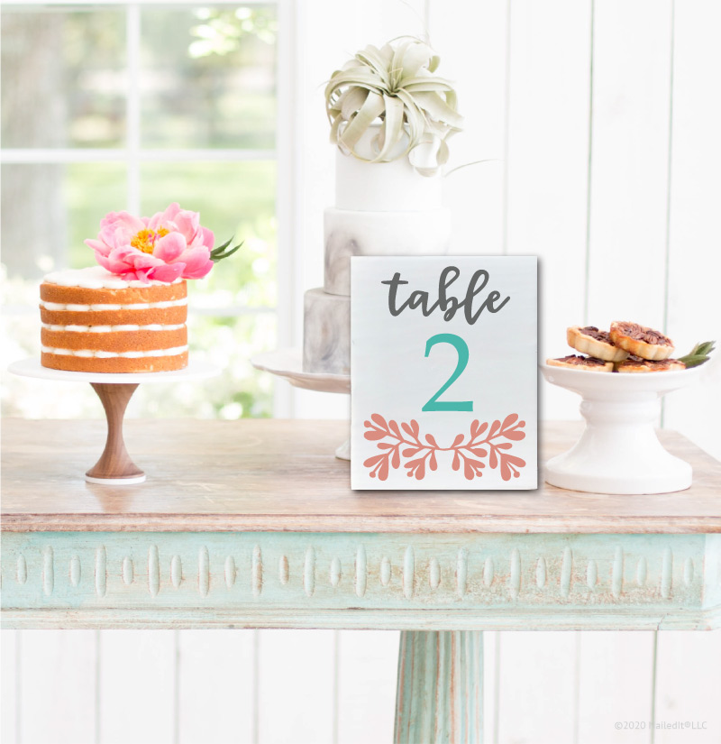7019 Table Number Script