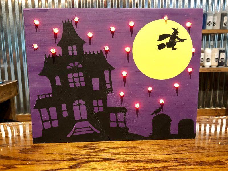October 10: Kid Camp Halloween Light-Up