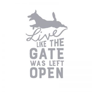 5180 Live Like the Gate is Open