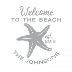 3044 Welcome to the Beach Starfish