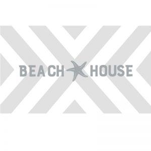 3047 Chevron Pattern with Beach House
