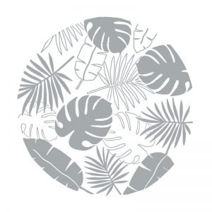 3061 Tropical Leaves Pattern