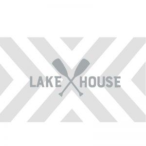 3071 Chevron Pattern Lake House