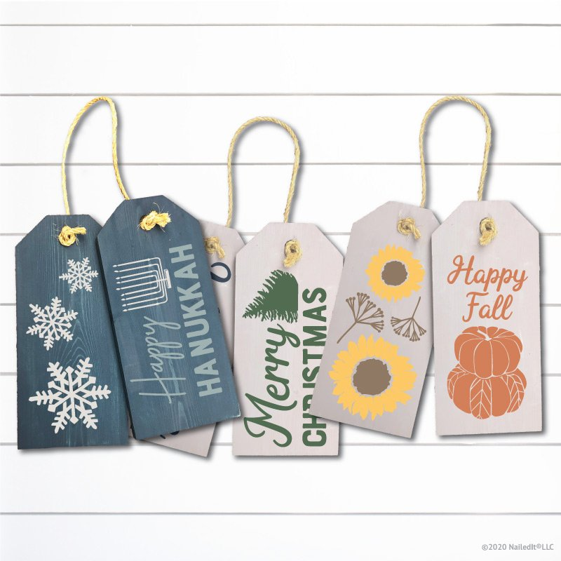 TM144 Welcome Home Door Tags Product