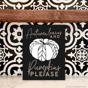 4049 Autumn Leaves Pumpkins Please